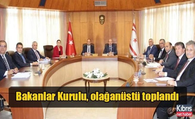 Bakanlar Kurulu, Cumurbaşkanı Akıncı başkanlığında toplandı