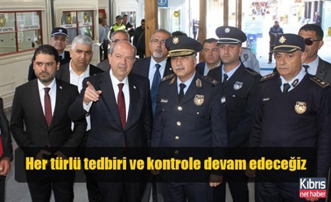 Başbakan Tatar Metehan ve Lokmacı Kapısında İncelemelerde Bulundu