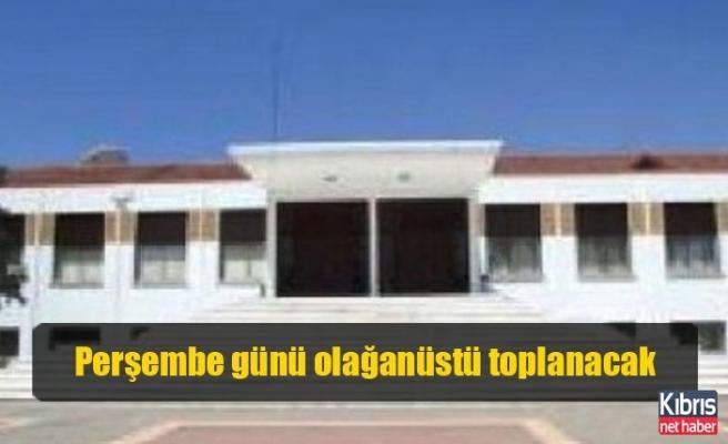 Cumhuriyet Meclisi, perşembe günü olağanüstü toplanacak