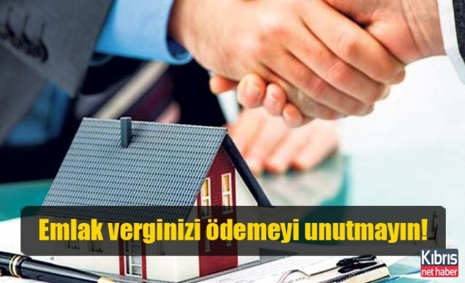 Girne Belediyesi'nden emlak vergileri ile ilgili duyuru