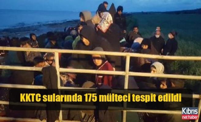 KKTC sularında 175 mülteci tespit edildi