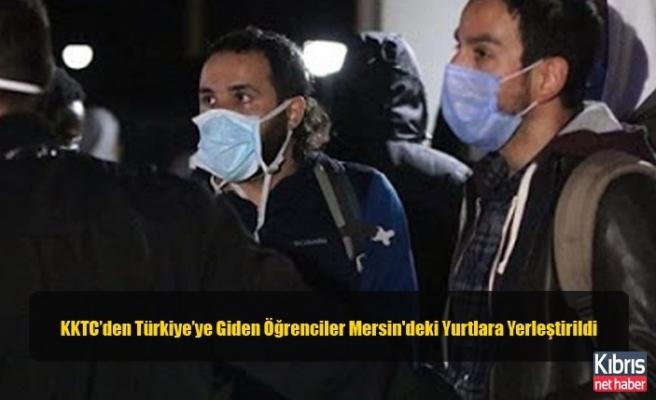 KKTC'den Türkiye'ye Giden Öğrenciler Mersin'deki Yurtlara Yerleştirildi