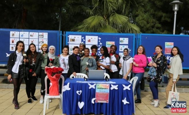 LAÜ öğrencileri kadınlar günü için sosyal farkındalık aktiviteleri düzenlediler