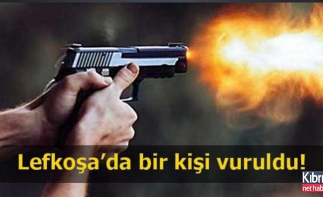 Lefkoşa'da bir kişi vuruldu!