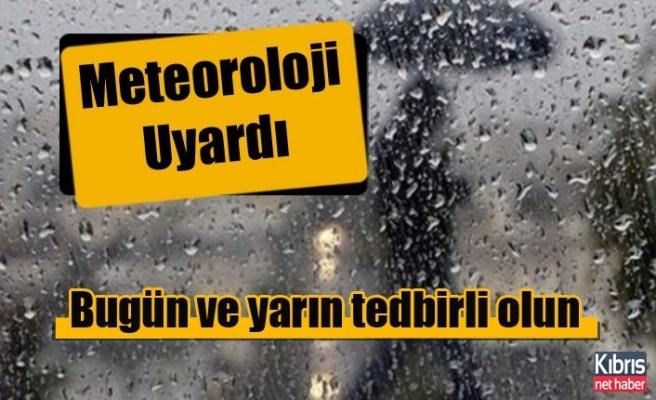 Meteoroloji Dairesi'nden Kuvvetli Yağış Uyarısı!