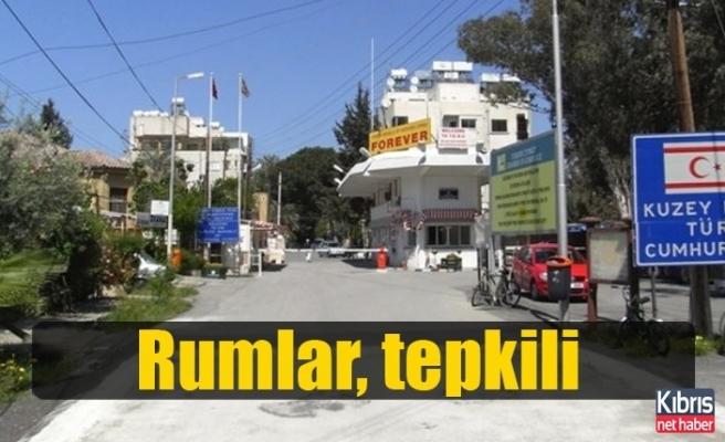 Rumlar, Bostancı ve Aplıç sınır kapılarının kapatılmasına tepkili