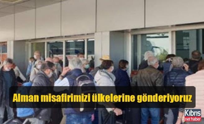 Tatar: 500'e yakın Alman misafirimizi ülkelerine gönderiyoruz