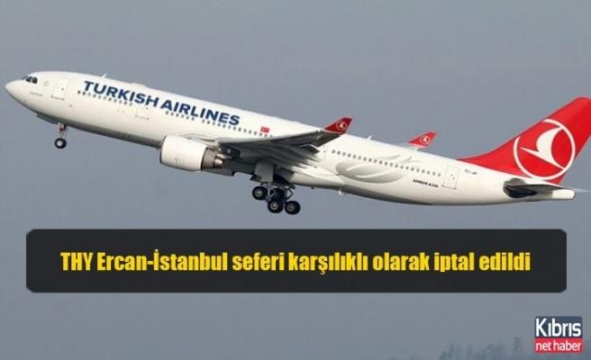 THY Ercan-İstanbul seferi karşılıklı olarak iptal edildi