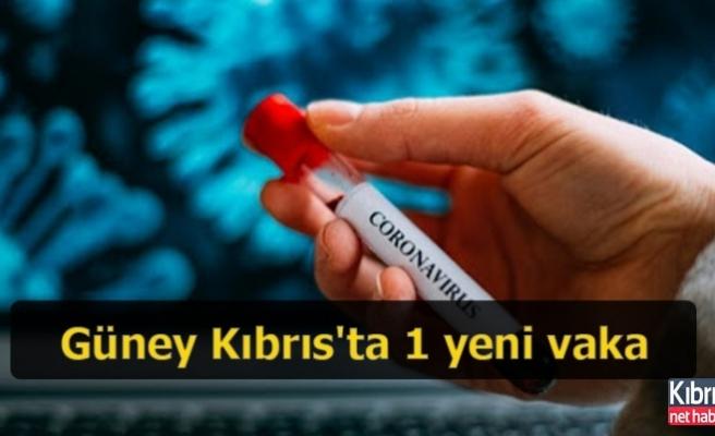 Güney Kıbrıs'ta 1 yeni vaka