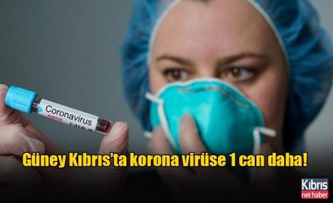 Güney Kıbrıs'ta korona virüse 1 can daha!