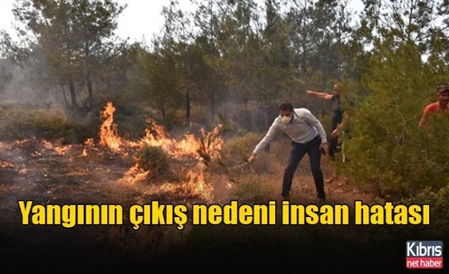 Oğuz: Koruçam'daki yangının çıkış nedeni insan hatası