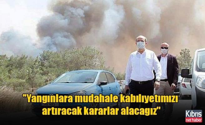 ''Yangınlara müdahale kabı̇lı̇yetı̇mı̇zı̇ artıracak kararlar alacağız''