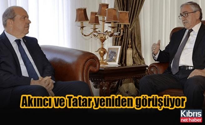Akıncı ve Tatar yeniden görüşüyor