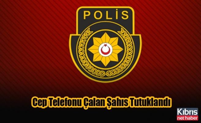 Cep Telefonu Çalan Şahıs Tutuklandı