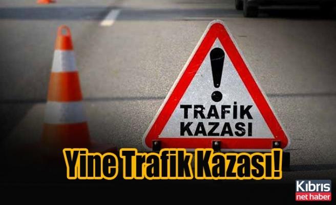 Gazimağusa'da Kaza: 1 Yaralı