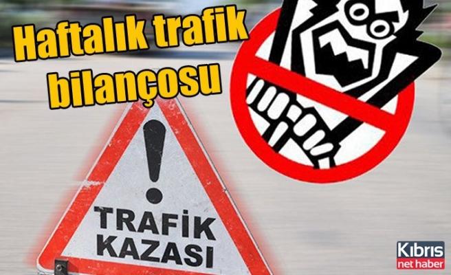 Haftalık Trafik Raporu: 2 ölü, 11 yaralı