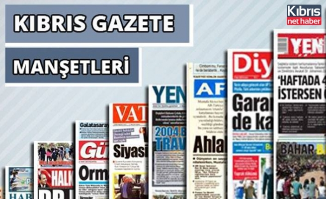 30 Temmuz 2020 Perşembe Gazete Manşetleri