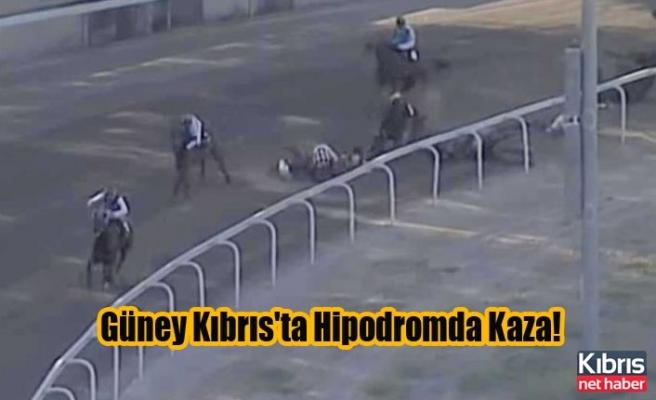 Güney Kıbrıs'ta Hipodromda Kaza!
