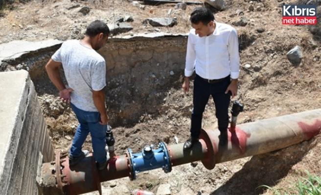 Tarım BNakanı, Serhatköy ve Kumköy pompa istasyonlarında incelemede bulundu