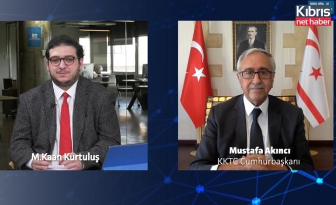 Akıncı: 11 Ekim seçimlerinden sonra garantör ülkelerle beşli gayriresmi konferans düzenlenecek