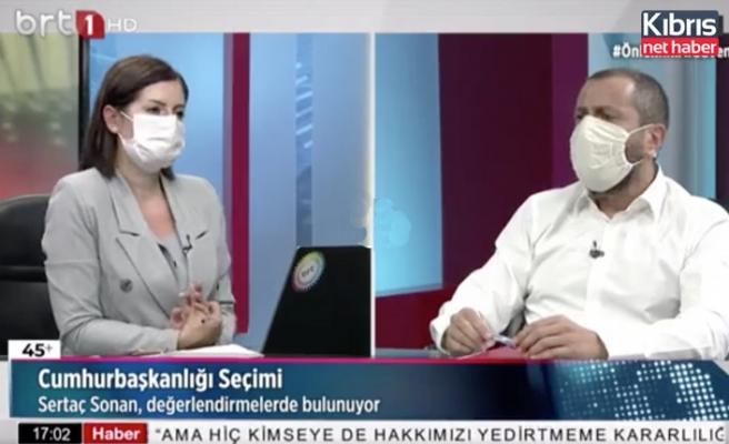 Sonan: Kıbrıs Türk halkı Akıncı'ya ciddi bir güven duyuyor
