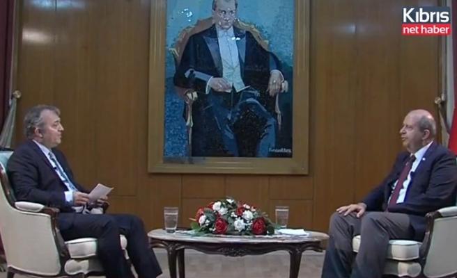 Tatar: Kıbrıs Türk halkı Türkiye'nin garantörlüğünden asla vazgeçmez
