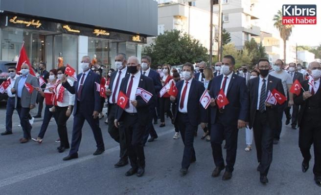 29 Ekim Cumhuriyet Bayramı'nın 97'nci yıl dönümü… Lefkoşa'da tören ve yürüyüş düzenlendi