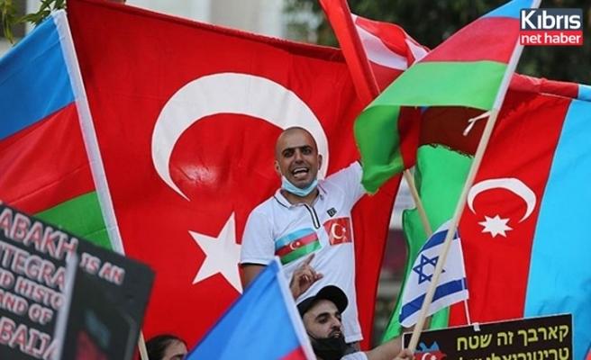 İsrail'deki Azerbaycanlı Yahudiler Ermenistan'ı protesto etti