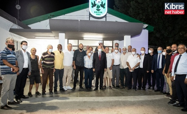 Tatar, Küçük Kaymaklı Spor Kulübünü ziyaret etti