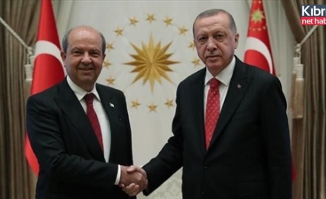Türkiye Cumhuriyeti Cumhurbaşkanı Erdoğan Tatar'la telefonda görüştü