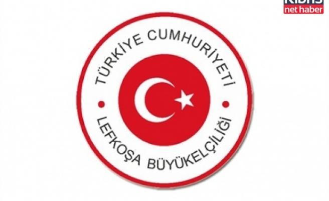 Türkiye Cumhuriyeti Lefkoşa büyükelçiliği'nden açıklama