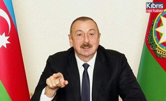 """Aliyev """"kendileri itiraf etti"""" diyerek duyurdu: Firar ettiler"""