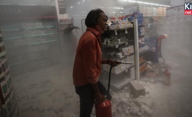 Brezilya'da sokaklar yangın yerine döndü