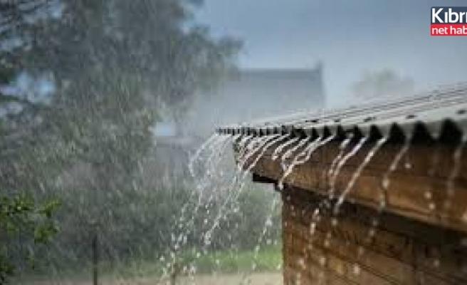 En fazla yağış Dipkarpaz, Koruçam ve Boğaz'a düştü
