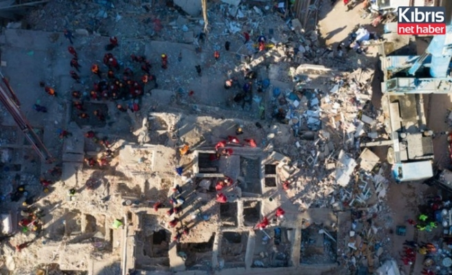 İzmir depreminde 114 kişi hayatını kaybetti