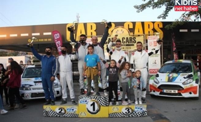 Kuzey Kıbrıs ralli şampiyonası'nda şampiyon Macila-Koyuncu ikilisi oldu
