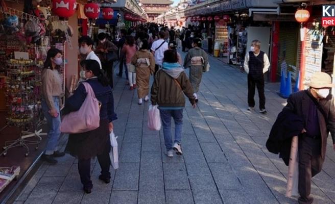 Tokyo'da rekor sayıda korona virüs vakası