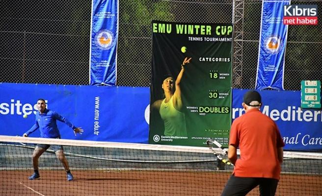DAÜ kış kupası tenis turnuvası başladı