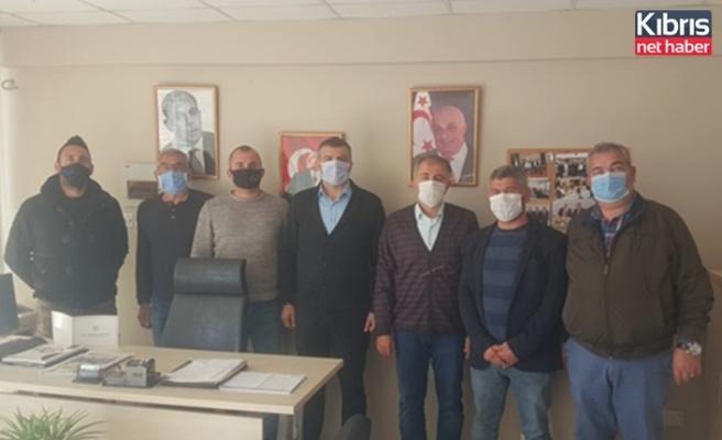 Alayköy organize sanayi bölgesi derneği başkanlığına Metin Yılgın seçildi