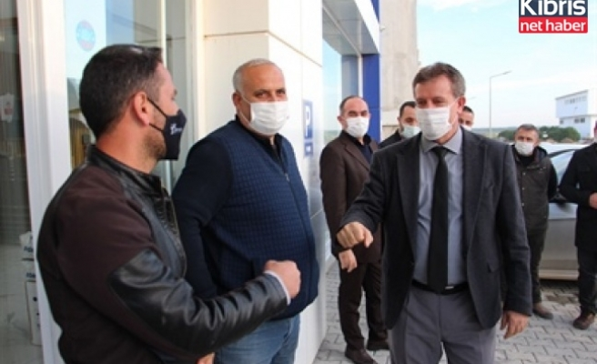 Arıklı, Alayköy sanayi bölgesi'ni ziyaret etti