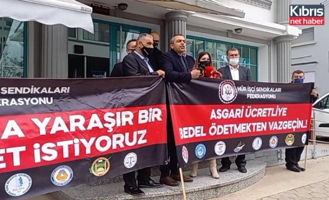 Serdaroğlu, Biz sadaka istemiyoruz asgari ücretlinin yasal hakkını istiyoruz