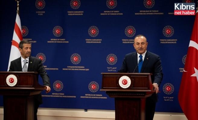 Çavuşoğlu: Maraş'ın açılma sürecine Türkiye olarak her türlü desteği vermeye devam edeceğiz