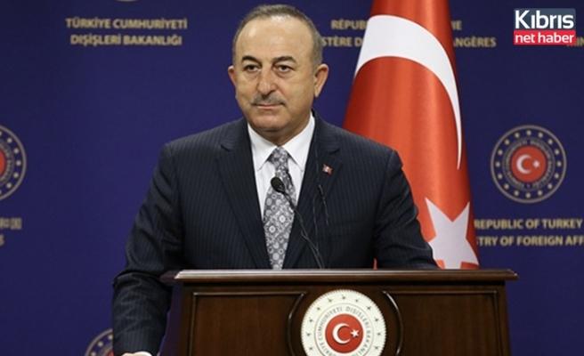 """Çavuşoğlu: Yunanistan'ı istikşafi görüşmelere başlamaya davet ediyoruz"""""""
