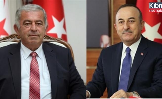 Çavuşoğlu, Sennaroğlu'nu kutladı