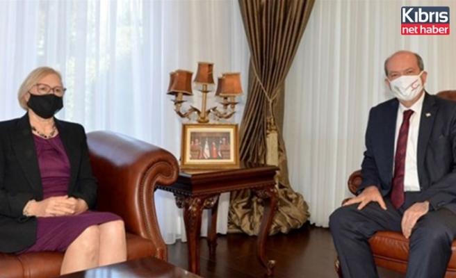 Cumhubaşkanı Tatar, Spehar'ı kabul etti