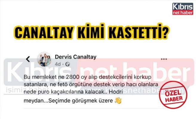 Derviş Canaltay hodri meydan dedi, ciddi iddialarda bulundu