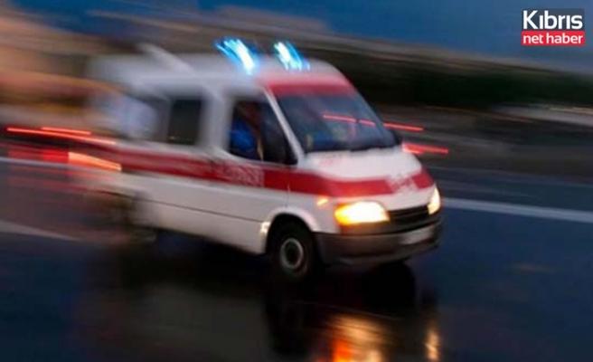 Hamitköy'deki iş kazasında 33 yaşındaki Ahmet Alaçam ağır yaralandı