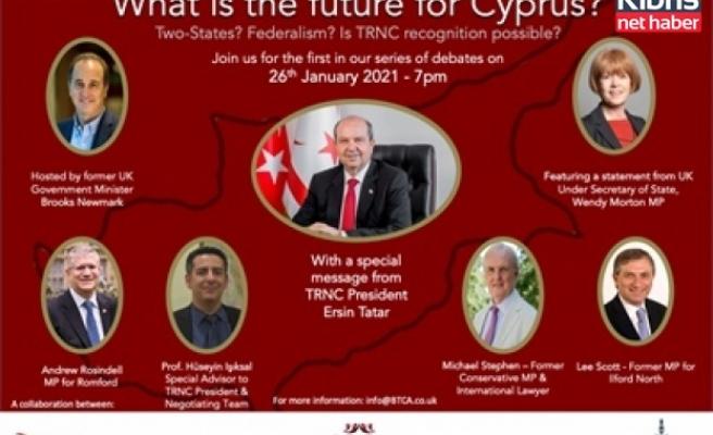 Kıbrıs'ın geleceği BTCA ve CTCA'nın online seminerinde tartışılacak