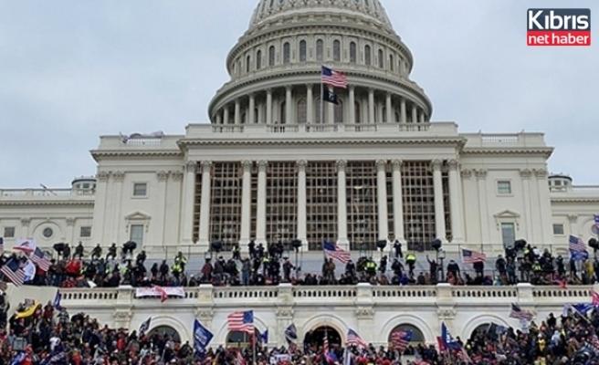 Kongre baskınında gözaltına alınan bir kişi intihar etti