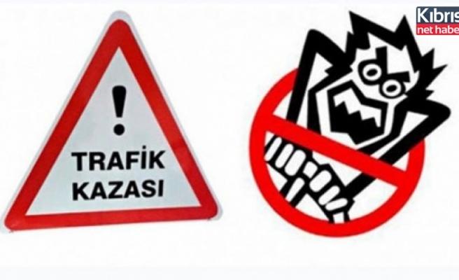 Lefkoşa'da meydana gelen kazada 1 kişi yaralandı